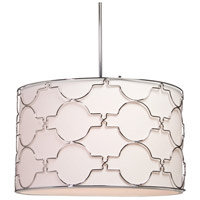Morocco 5 Light 23 inch Chrome Chandelier Ceiling Light