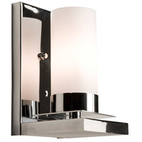 Steven & Chris by Artcraft Lighting Crawford 1 Light Wall Bracket in Chrome SC651