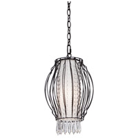 Steven & Chris by Artcraft Lighting Madeline 1 Light Chandelier in Black SC660