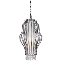 Steven & Chris by Artcraft Lighting Madeline 1 Light Chandelier in Black SC661