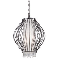Steven & Chris by Artcraft Lighting Madeline 1 Light Chandelier in Black SC662