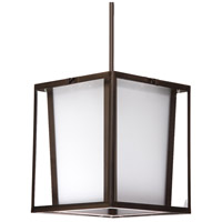 Steven & Chris by Artcraft Lighting Hyde ParK 3 Light Single Pendant in Dark Brown SC750