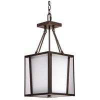 Steven & Chris by Artcraft Lighting Hyde ParK 3 Light Chandelier in Dark Brown SC751
