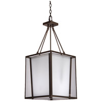 Steven & Chris by Artcraft Lighting Hyde ParK 6 Light Chandelier in Dark Brown SC752