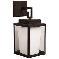 Steven & Chris by Artcraft Lighting Hyde ParK 1 Light Wall Bracket in Dark Brown SC754