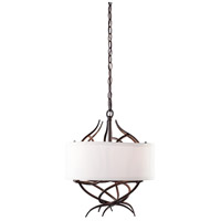 Steven & Chris by Artcraft Lighting Willow 3 Light Chandelier in Organically Shaped Branches SC763