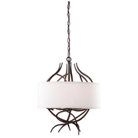 Steven & Chris by Artcraft Lighting Willow 6 Light Chandelier in Organically Shaped Branches SC764