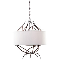Steven & Chris by Artcraft Lighting Willow 9 Light Chandelier in Organically Shaped Branches SC766
