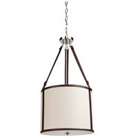 Bay Street 3 Light 16 inch White Chandelier Ceiling Light