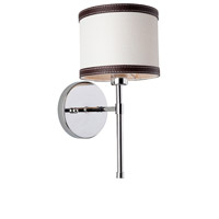 Steven & Chris by Artcraft Lighting Bay Street 1 Light Wall Bracket in White SC877WH
