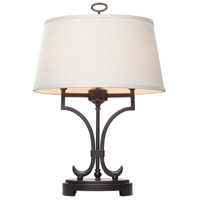 Steven & Chris by Artcraft Lighting Simplicity 2 Light Table Lamp in Oil Rubbed Bronze SC958 photo thumbnail