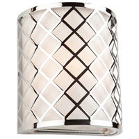 Trellis 1 Light 7 inch Chrome Wall Bracket Wall Light