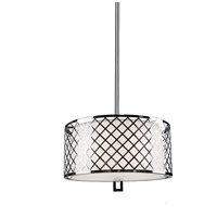 Trellis 4 Light 18 inch Chrome Pendant Ceiling Light