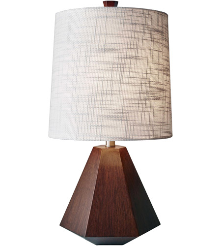 Wood Fabric Table Lamps