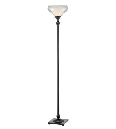 Adesso Brookfield Floor Lamp 1 Light in Black 1511-01 photo