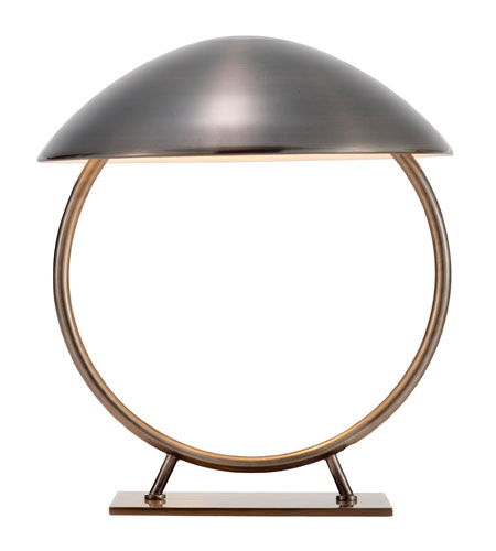 Adesso Relic 1 Light Table Lamp in Antique Pewter 3238-23 photo