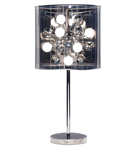 Adesso 3260-22 Starburst 29 inch 25 watt Steel Table Lamp Portable Light photo