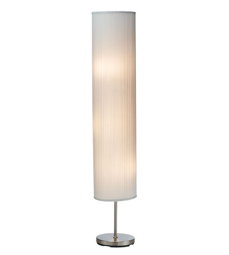 Adesso Gatsby 3 Light Floorchiere in White 3324-02 photo