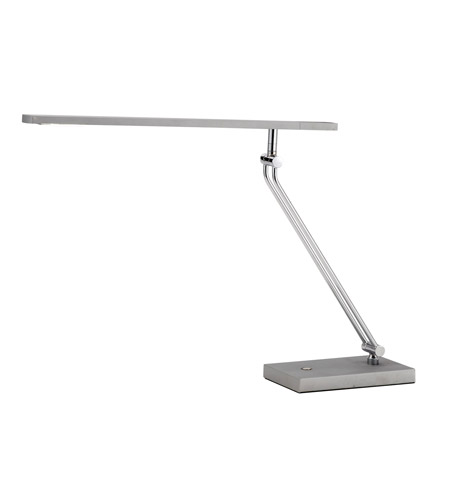 Adesso 3392-22 Saber 26 inch 7.2 watt Steel Led Desk Lamp Portable Light photo