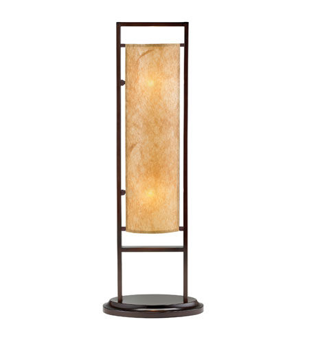 Adesso Serenity 2 Light Table Lamp in Antique Bronze 3674-26 photo