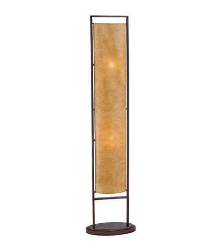 Adesso Serenity 2 Light Floor Lamp in Antique Bronze 3675-26 photo