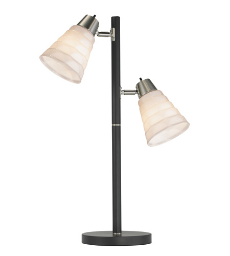 Adesso Myles 2 Light Table Lamp in Black 3804-01 photo