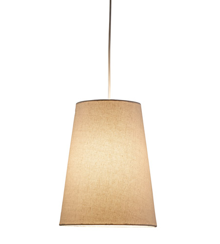 Adesso Harvest 1 Light Cone Pendant in Natural 4000-12 photo