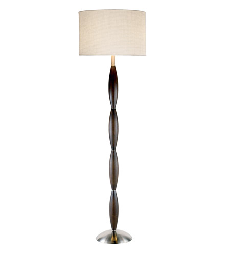 Adesso 4021-15 Twist 68 inch 150 watt Walnut Floor Lamp Portable Light photo