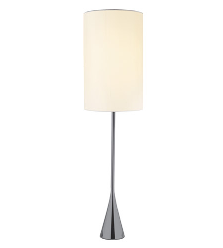 Adesso 4028-01 Bella 37 inch 60 watt Black Nickel Table Lamp Portable Light photo