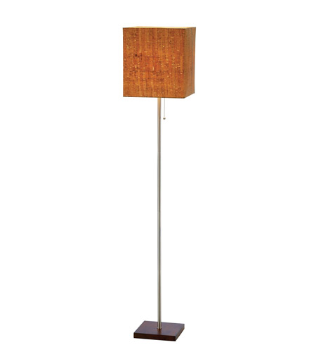 Adesso Sedona Floor Lamp 1 Light in Walnut 4085-15 photo