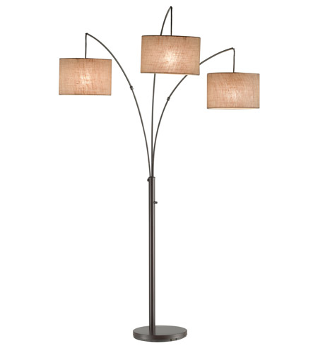 Adesso 4238 26 Trinity 84 Inch 100 Watt Antique Bronze Arc