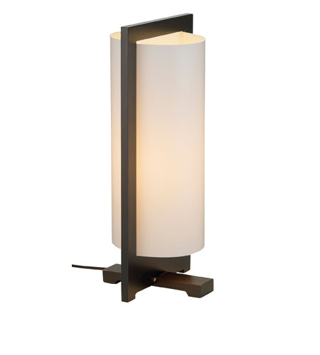 Adesso Zen 1 Light Tall Table Lamp in Walnut 4411-15 photo