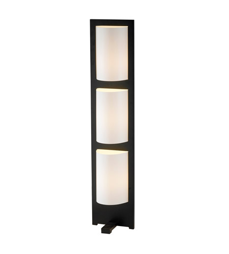 Adesso Zen 3 Light Floor Lamp in Walnut 4412-15 photo