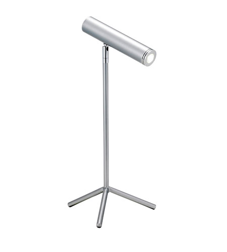 Adesso Galileo 1 Light Desk Lamp in Steel 6090-22 photo