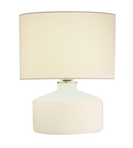 Adesso Elsa 1 Light Jar Table Lamp in Chrome 6194-02 photo