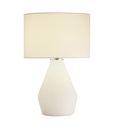 Adesso Elsa 1 Light Vase Table Lamp in Chrome 6195-02 photo