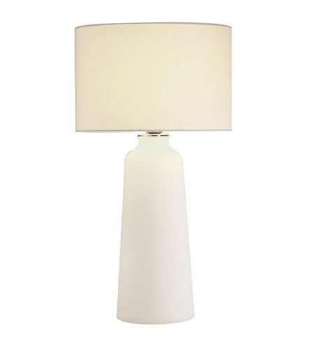 Adesso Elsa 1 Light Cylinder Table Lamp in Chrome 6196-02 photo