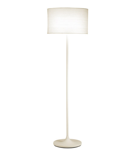Adesso 6237-02 Oslo 60 inch 100 watt White Floor Lamp Portable Light photo