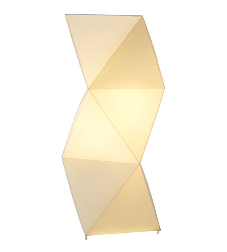 Adesso Icon Table Lamp 1 Light in White 6252-02 photo