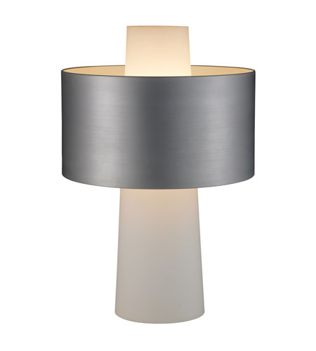 Adesso Symmetry 1 Light Table Lamp in Steel 6510-22 photo