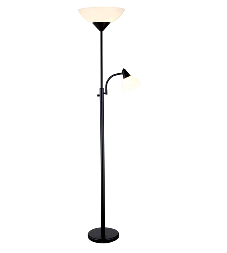 Adesso Piedmont 3 Light Combo Torch in Black 7202-01 photo