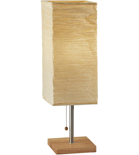 Adesso 8021-12 Dune 25 inch 100 watt Natural Tall Table Lamp Portable Light photo