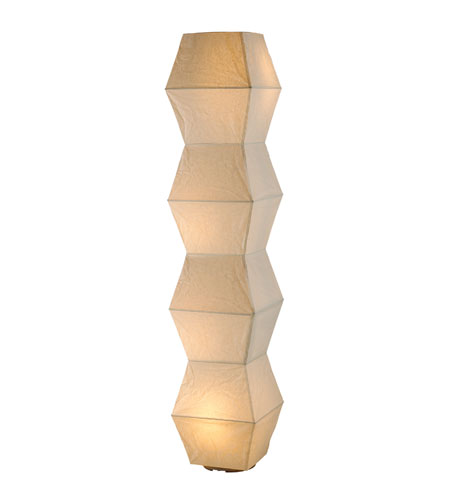 Adesso Cubist 3 Light Floor Lamp in White 8061-02 photo