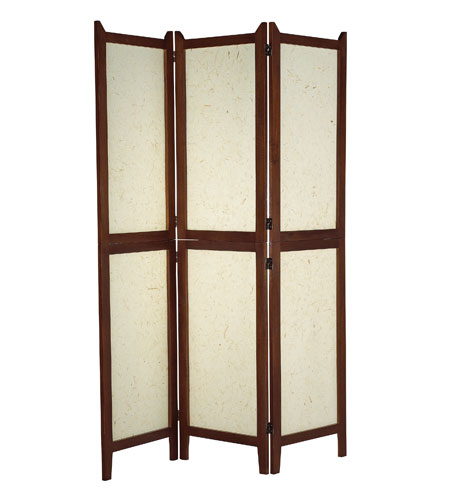 Adesso AR3880-15 Wilton Walnut Folding Screen photo