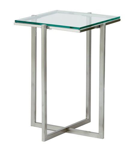 Adesso Glacier Small Pedestal in Satin Steel HX1124-22 photo