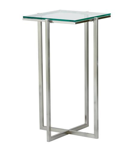 Adesso Glacier Medium Pedestal in Satin Steel HX1125-22 photo