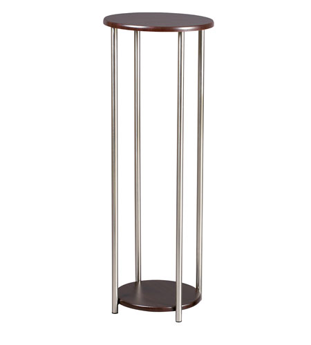 Adesso Barcelona Tall Pedestal in Walnut HX4875-15 photo