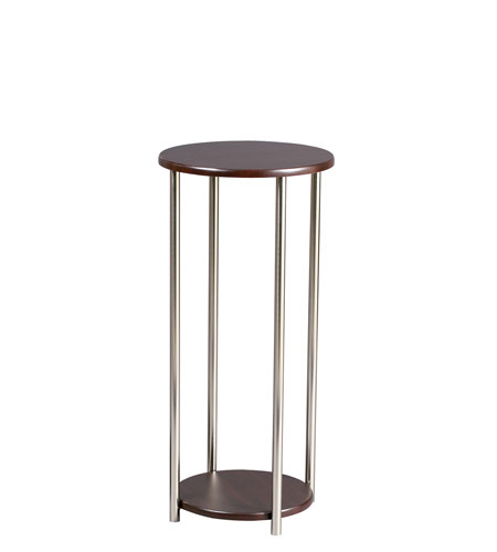 Adesso Barcelona Pedestal in Walnut HX4877-15 photo