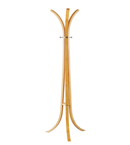 Adesso Contour Coat Rack in Natural WK2009-12 photo