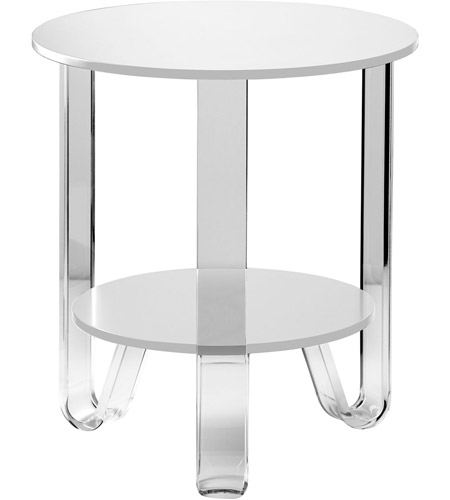 Adesso WK2067-02 Jordan 22 X 19 inch White Accent Table photo